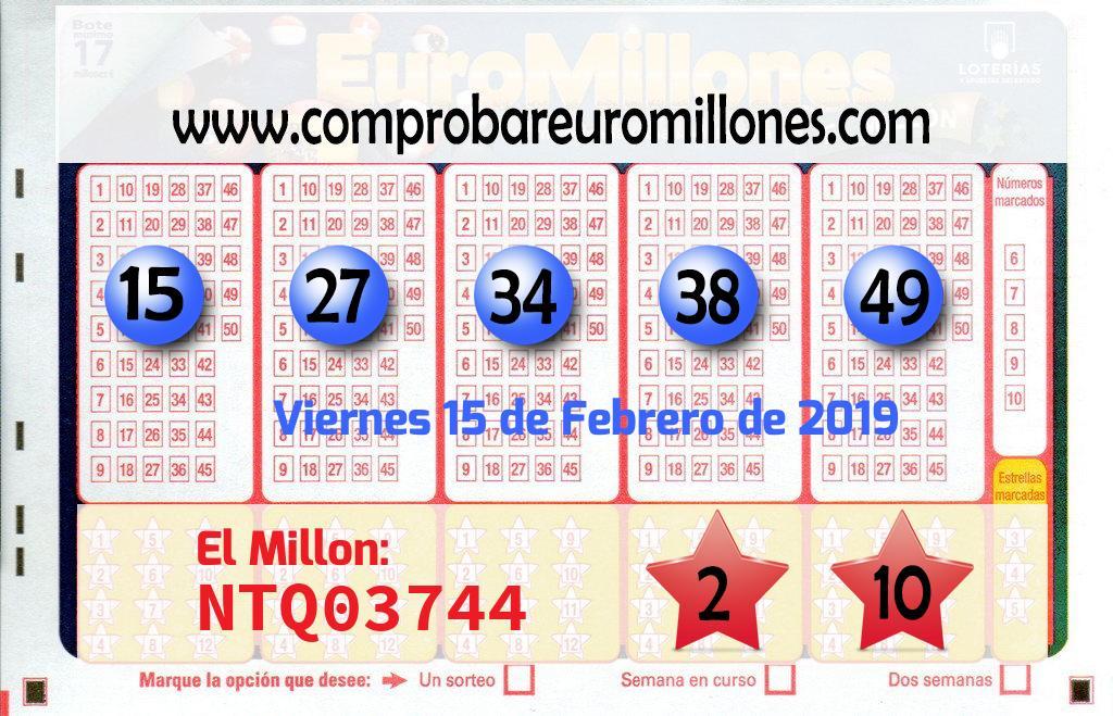 El Euromillones deja un premio de segunda categoría de 317.000 euros en Murcia