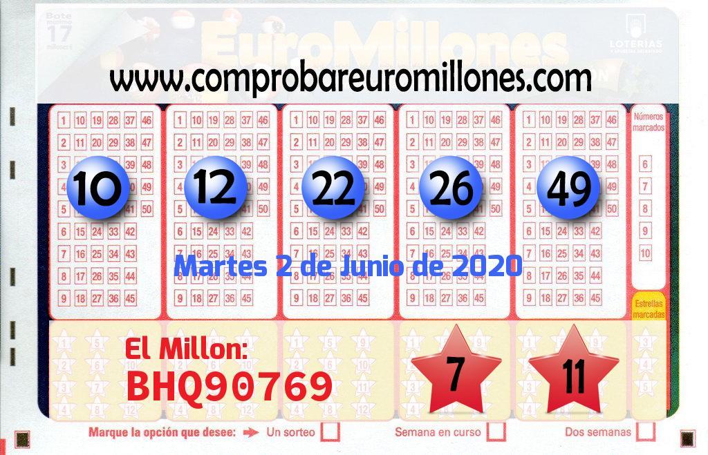Vendido en Roda De Bará el segundo premio de El Euromillones, dotado con 88.000 euros