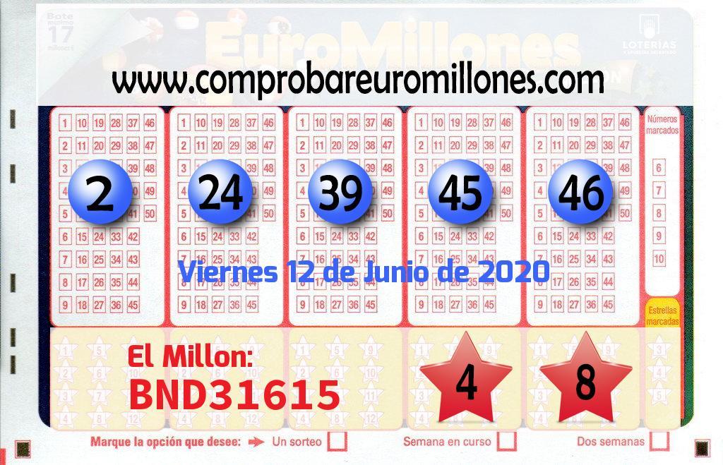 El Euromillones deja un premio de 51.584.000 euros en Madrid