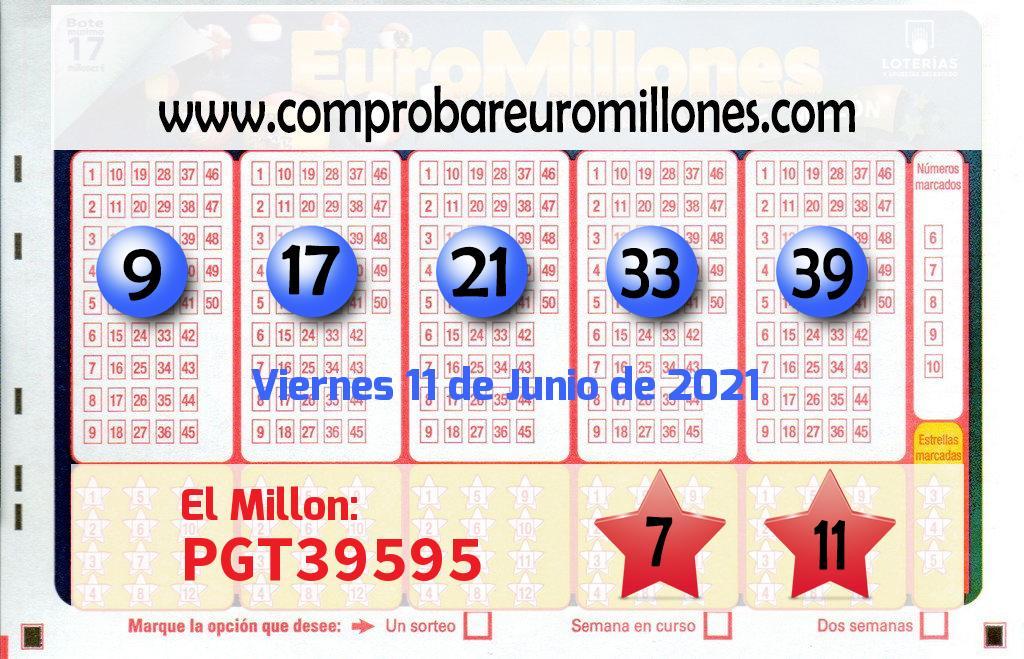 Un premio de 100.000 euros en el sorteo de Euromillones se va para Viso Del Alcor El
